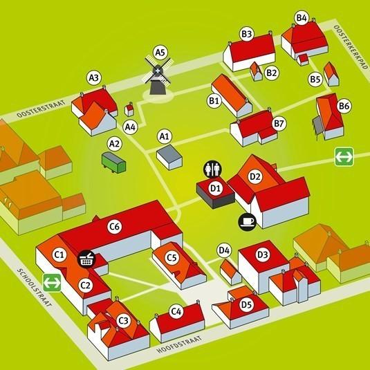 plattegrond, webformaat